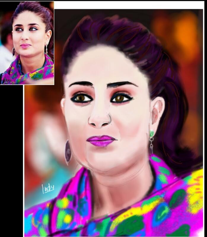 Kareena Kapoor by CHHAYANKANArts